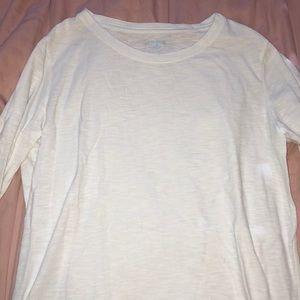 Cat & Jack white long sleeve shirt